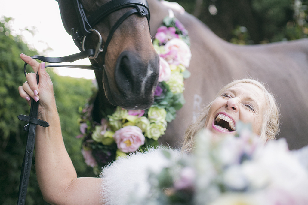 Wedding Horse Fun